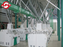 20-400tons/day planta de procesamiento de harina de trigo