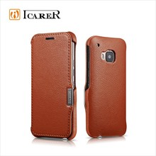ICARER Wallet Leather Case For HTC M9,Flip Cell Phone Cases Fot M9,Luxury Mobile Phone Cover For M9
