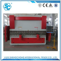7mm thick 3500mm press brake bending press machines details pictures
