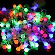 N94 The Christmas lights colorful wedding ball color light ball lamp series