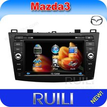 car audio system for 2012 New Mazda 3 with gps navigation RDS Hot Selling
