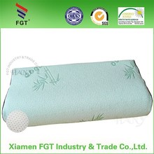 Bamboo Pillow with Removable Hypoallergenic Bamboo Cover