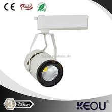 4 phase COB 110v 120v 220v 230v 240v led track lamp 12w 15w 20w 25w 30w 35w 40w