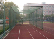 baseball court fence net cage, baseball netting cage, baseball batting cage