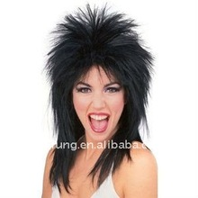 Adult Rockstar Poison Rock Roll Superstar Costume Wig