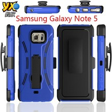 4-in-1 Detachable Bumper PC+TPU Robot Combo Case for Samsung Galaxy Note 5