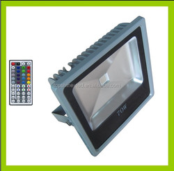 Outdoor Die-casted Aluminum 70W LED Floodlight With Epistar Chip IP65