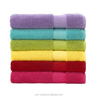 manufacturers india cotton terry towel with dobby border