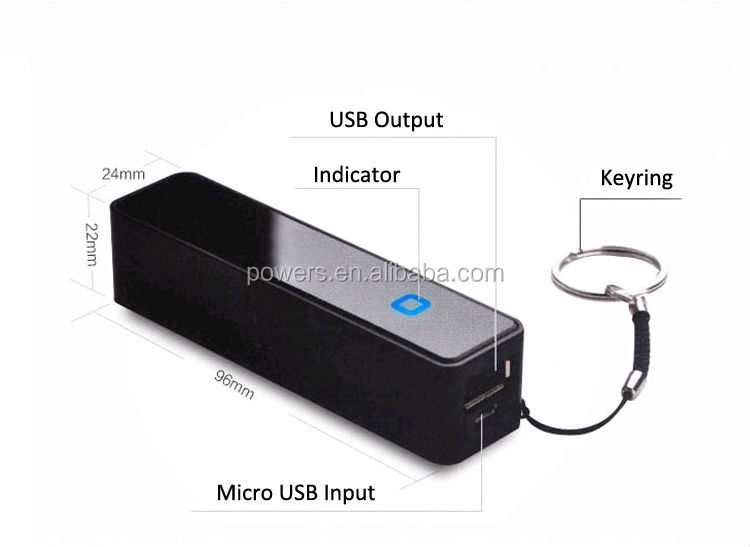 Best Quality Portable Power Bank Perfume Power Bank 2600mAh