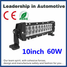 Top Qualiy! Bullet-proof NSSC NS-WL-2R10 offroad 4x4 aftermarket auto light led bar 60w double row 3w cree 10'' 12''