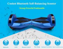 Transformer Self Balance Drifting 2 Wheel Electric LED Scooter Self Balancing With Bluetooth Speaker