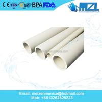 Plastic CPVC Plumbing Pipe Hot Water Heating Pipe