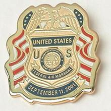 Custom logo gold plated metal badge reel