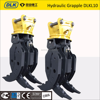 CE approved 30ton excavator hydraulic wood grapple, Excavator Grab