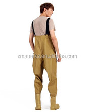 Neoprene breathable chest wader with multicolor and style made of Auerka