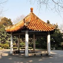 Antique Style Garden Decoration Bamboo Garden Houses