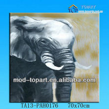 2013 new arrival Animal stretched canvas oil painting