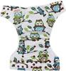Ohbabyka minky printing cloth diapers colorful snaps,washable fashion baby cloth diaper