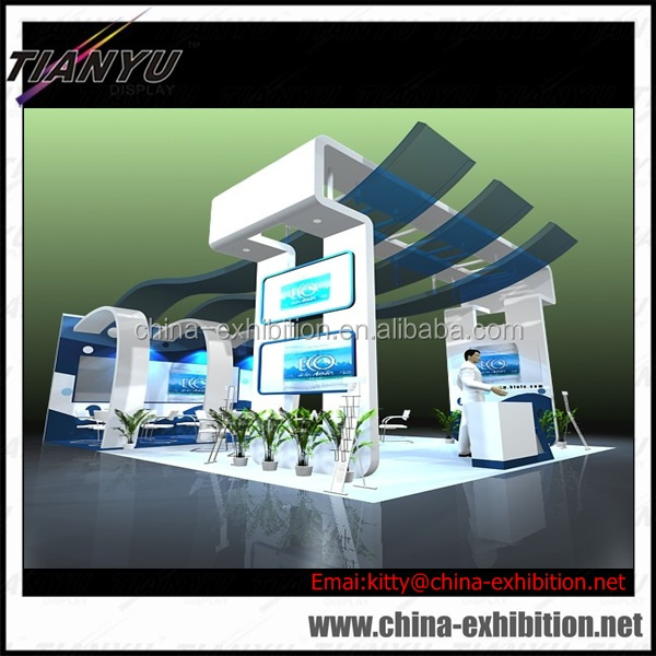 Modern Exhibition Booth Design : Modern exhibition booth display aluminum system trade show