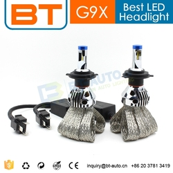New Car Accessories Products Real Lumen 2800lm H4 9004 9007 H13(9008) Led Hi Low Beam Headlight Lens