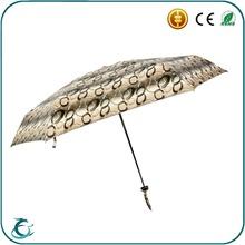 hot selling 5 fold super mini folding umbrella packet size