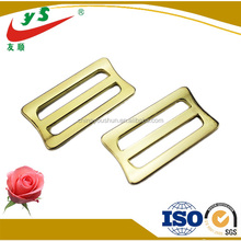 Gold color plated metal leather bag parts and accessories