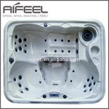 2015 European style indoor 3 person acrylic massage freestanding spa whirlpool bathtub balboa spa bath prices