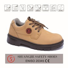 Mens Waterproof Leather PU Sole Safety Boots with Steel Toecap