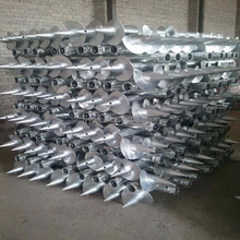 Screw Pile for solar modules mounting system