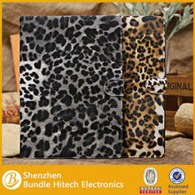 Fashion PU Leather Leopard Pattern Case for ipad 5