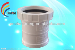 Plastic Pipe Fitting UPVC PVC-U PVC Expansion Joints for Water Drainage