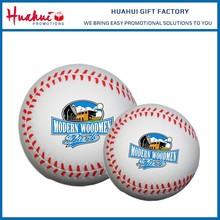 Promotional Wholesale Custom Logo Printed PU Baseball Toys Anti Stress Ball