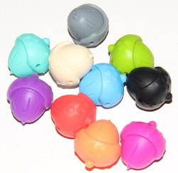 Food Grade Silicone Teething Beads Bulk/Silicone Teething Beads For Jewelry