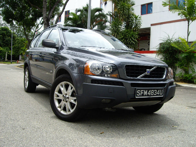 volvo xc90 2004 full spec for export singapore used car buy car export singapore used. Black Bedroom Furniture Sets. Home Design Ideas