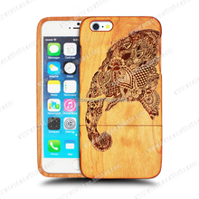 Durable Wood Bamboo Mobile Phone Case For Iphone 5 Phone Case.