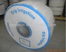 Tubo de riego con goteo de plástico con equipamiento para jardín, suministro de agua
