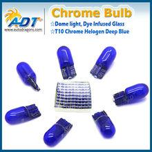 Hiway auto light dark blue T10 halogen bulbs for tail light