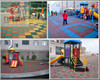 2015 outdoor playground rubber mats