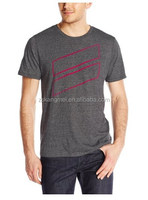 Triblend Premium short sleeve T-shirt custom made factory in China ,colors available