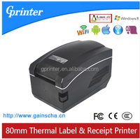 80mm thermal receipt label barcode printer with wifi