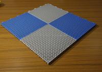 Anti-slip suspended flooring tiles used swimming pool plastic flooring