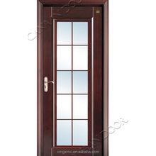 Canaan Doors Graceful Model With Art Glass Wood Door Design Window