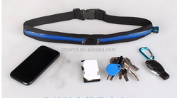 Hot Selling Custom Cheap jogging belt with pouch