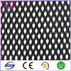 Black polyester mesh fabric for laundry bag