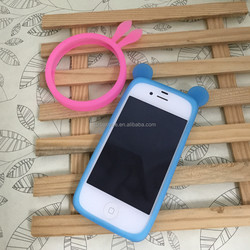 2015new arrival customiz silicone bumper case for Iphone 6, mobile phone cover for Iphone 6, phone accessories for Iphone 6 case