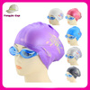 2014 New Arrival Smart Design Silicone Swimming Cap For Long Hair