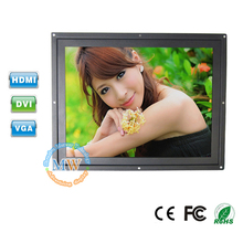 Professional monitor manufacture flush mount 12 inch LCD TFT with HDMI VGA DVI port