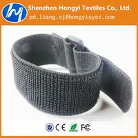 Nyllon durable adjustable Elastic hook and loop band