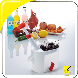Cherry Pitter Stone Remover Machine with Container for Kitchen