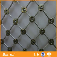 high quality fair price 304 stainless steel wire rope mesh (anping ISO,CE)